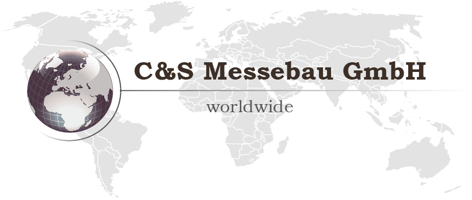 Logo - C&S Messebau worlwide GmbH